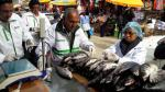 Huancayo: decomisan 25 kilos de carne de pescado descompuesta - Noticias de medidas de prevención