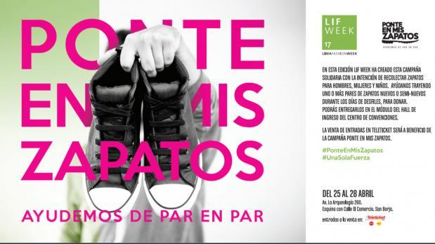 Ponte en mis zapatos, una campaña para ayudar al norte del país