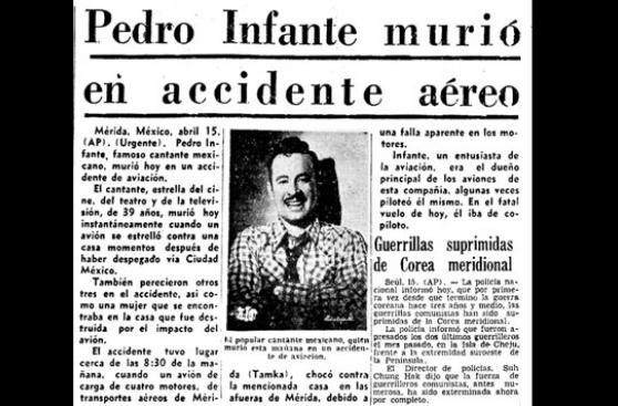 Pedro Infante murió hace 60 años