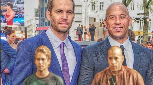 """Vin Diesel revela cómo fue grabar """"Rápidos y furiosos"""" sin Paul Walker"""