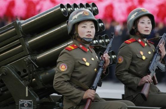 Así es el temido Ejército de Corea del Norte [FOTOS]
