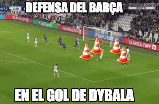 Barcelona vs. Juventus: los memes más divertidos del cotejo