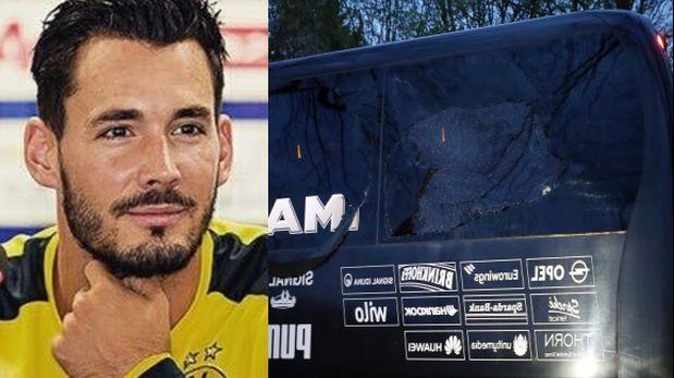 Confirman que el micro del club Borussia sufrió un ataque terrorista — Alemania