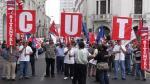 CUT dice que ya no dialogará con el Gobierno - Noticias de cesar bazan