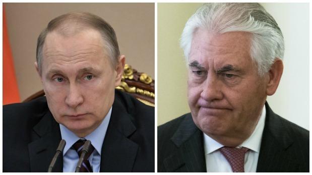 Rusia Putin recibe al secretario de Estado de Trump