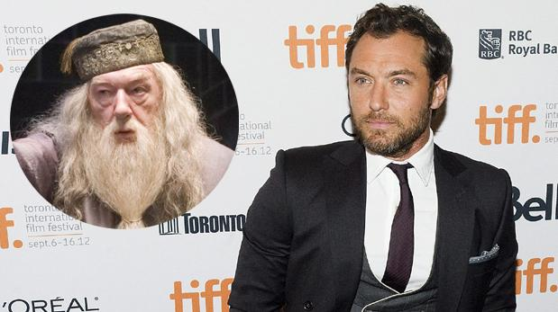 Jude Law interpretará al joven Albus Dumbledore en Fantastic Beasts 2