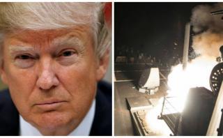 """Trump dio la orden de atacar a Siria """"durante el postre"""""""