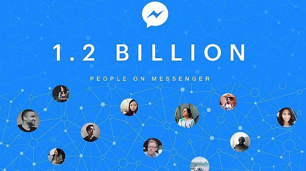 Cómo Facebook Messenger consiguió 1.200 millones de usuarios