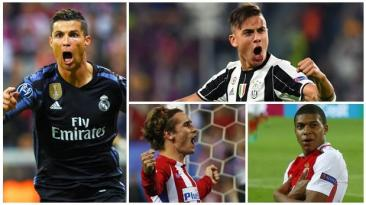 DT Champions: mira los 12 goles de los cuartos de final (ida)