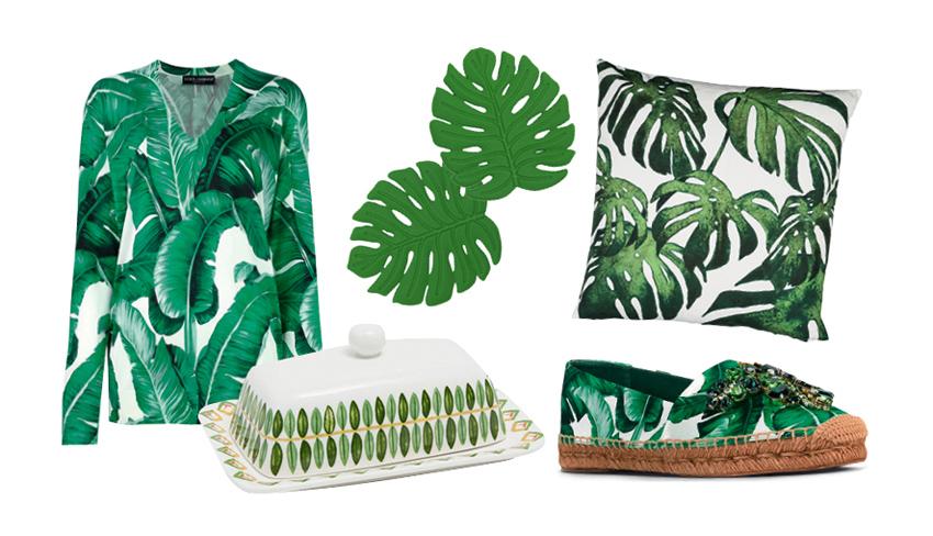 Guía de compras: Inspiración botánica