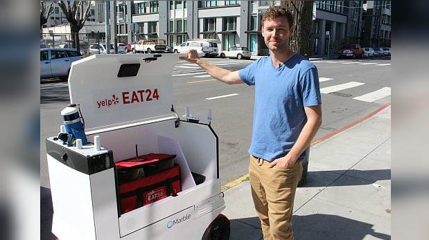 San Francisco cuenta con primer servicio de delivery con robots