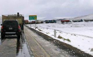 Senamhi: pronostican heladas nocturnas en sierra central