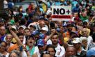 Venezuela: Opositores marchan en todo el país