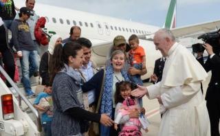 Cómo viven los refugiados sirios que el papa se llevó de Lesbos