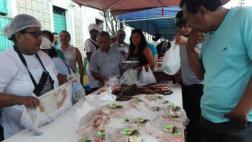 Iquitos: acuicultores vendieron 6 toneladas de pescado en feria