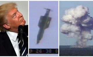 """Trump dio """"total autorización"""" para lanzar la bomba más potente"""