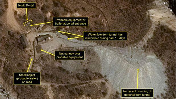 El primer portaaviones nuclear estadunidense llega el 25 de abril a Surcorea
