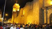 Arequipa: fieles recorrieron templos del Centro Histórico