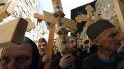 Cristianos conmemoran en Jerusalén el Vía Crucis de Jesús
