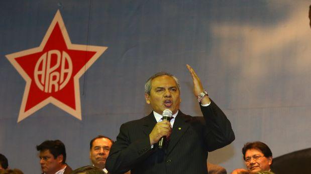 """Omar Quesada espera """"rostros nuevos"""" en dirigencia del Apra"""