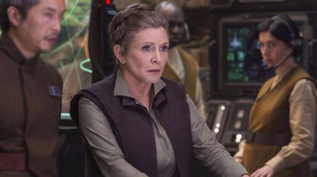 """Carrie Fisher no aparecerá en el episodio IX de """"Star Wars"""""""