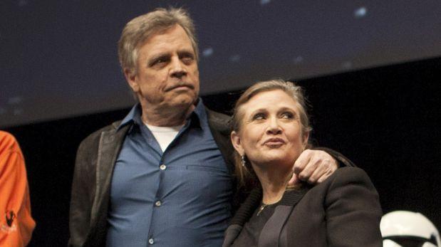 """Mark Hamill: """"No hay un día en el que no piense en Carrie"""""""