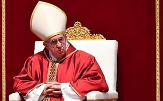 """Francisco denuncia la """"vergüenza"""" de la destrucción en el mundo"""