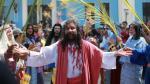 Semana Santa: 'Cristo cholo' representó el Vía Crucis de Jesús - Noticias de marcelo mundaca