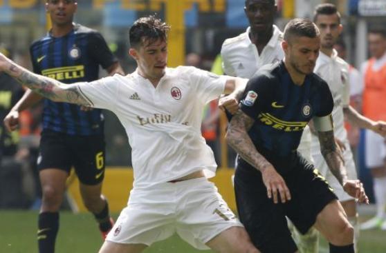 Milan igualó 2-2 ante el Inter por el derbi italiano [VIDEO]