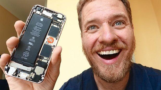Construyó un económico iPhone 6S con solo repuestos chinos