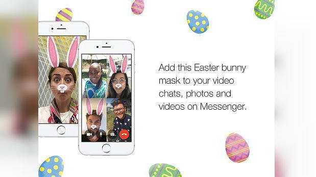 Conviértete en un conejo de Pascua con este filtro de Facebook