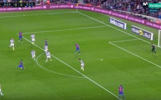 Messi y una zurda prodigiosa: así le anotó a la Real Sociedad