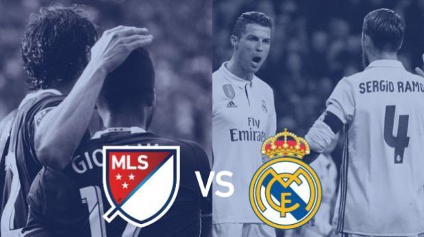 Real Madrid se enfrentará a estrellas de la MLS en agosto