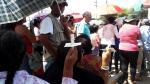 Semana Santa en Ica: fieles rezan al Señor de Luren bajo el sol - Noticias de elias fullana