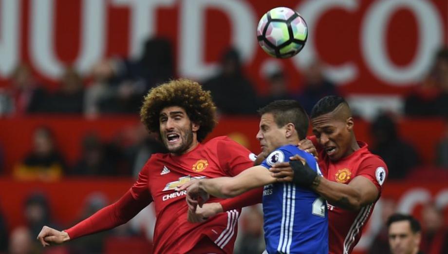 Man. United vs. Chelsea: las imágenes del duelo en Old Trafford