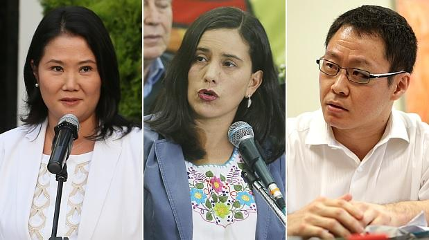 Ipsos: ¿cuántos peruanos aprueban a Keiko, a Mendoza y a Kenji?