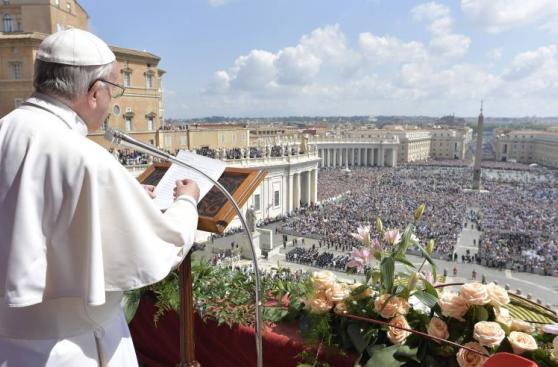 Misa por el Domingo de Resurrección en el Vaticano