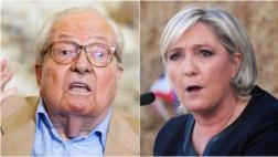 Francia: Jean-Marie Le Pen apoya la candidatura de su hija