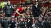 Mourinho vs. Conte: todas las postales del duelo de técnicos