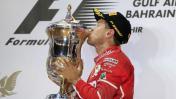 Fórmula 1: Vettel ganó GP de Bahrein por delante de Hamilton