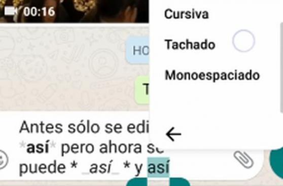 WhatsApp: nueva actualización permite modificar textos