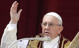 """Papa implora la paz en una Siria llena de """"horror y muerte"""""""