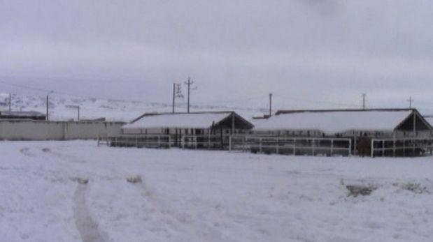 Habrá nevadas en zonas altas de sierra sur hasta el 18 de abril
