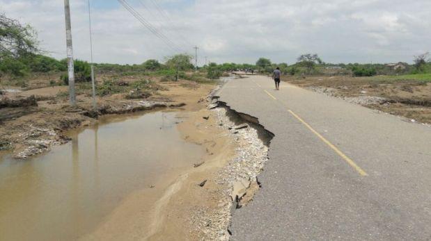Más de 75 vías a nivel nacional continúan afectadas por lluvias