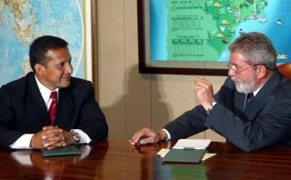 Humala: Hay afinidad ideológica con Lula, pero no recibí dinero