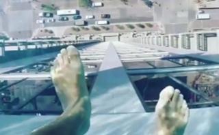 [BBC] Una piscina de fondo transparente que te dará vértigo