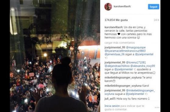 Soy Luna: Karol Sevilla ya está en Lima y agradece a sus fans
