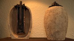 Hasta saber cuántas han sido encontradas es difícil pues a menos de que hallen todos los componentes juntos, estos se pueden confundir con otros artefactos. (Imagen de reproducción de pilas de Bagdad hechas por MJ2 Artesanos).