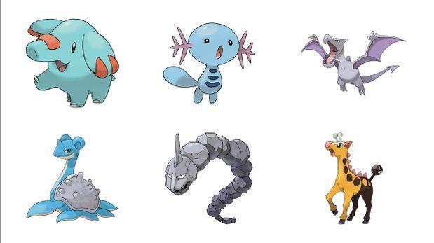 Pokémon Go: las criaturas que aparecen de huevos de 2 km