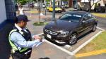 San Isidro: desde hoy multarán por mal uso de parqueo - Noticias de pilotos